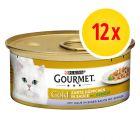 Gourmet Gold Kawałki w sosie, 12 x 85 g