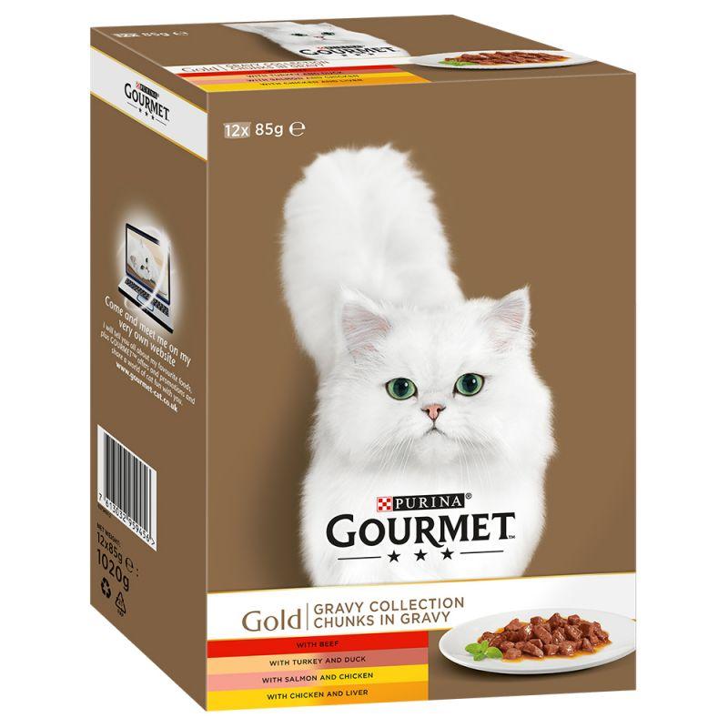 Gourmet Gold Mixed Packs 12 x 85g