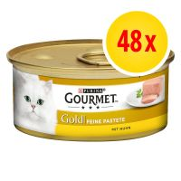 Gourmet Gold Pâté Recipes Multibuy 48 x 85g