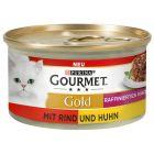 Gourmet Gold Raffineret Ragout, Okse & kylling