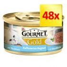 Gourmet Gold Recettes raffinées 48 x 85 g
