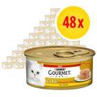 Gourmet Gold s lahodnou náplní 48 x 85 g