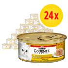 Gourmet Gold Smeltende Kern Kattenvoer 24 x 85 g