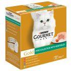 Gourmet Gold -säästöpakkaus purkkiruoat 24 x 85 g