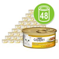 Gourmet Gold Tender Chunks Mega Pack 48 x 85g