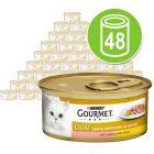 Gourmet Gold Tenros Pedaços 48 x 85 g - Pack económico