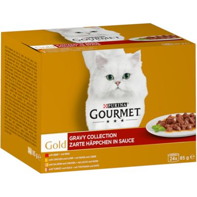 Gourmet Gold Wet Cat Food Jumbo Pack 96 x 85g