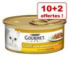 Gourmet Gold 10 x 85 g + 2 boîtes offertes !
