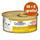 Gourmet Gold 48 x 85 g comida para gatos en oferta: 40 + 8 ¡gratis!