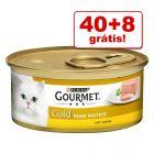 Gourmet Gold 48 x 85 g em promoção: 40 + 8 grátis!