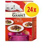 Gourmet Mon Petit Duetti 24 x 50 g