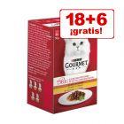 Gourmet Mon Petit 24 x 50 g en oferta: 18 + 6 ¡gratis!