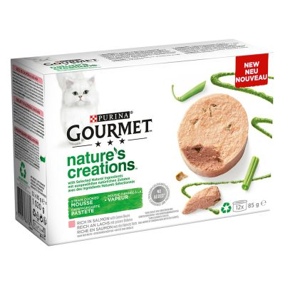 Gourmet Nature's Creation Mousse 48 x 85 g pour chat