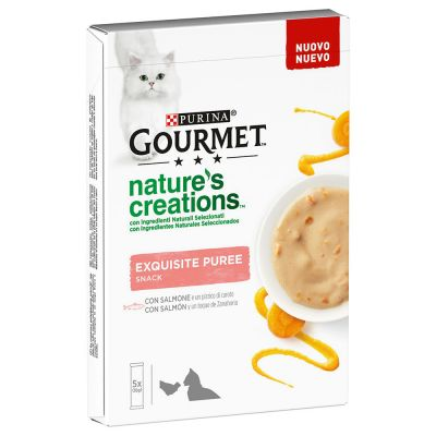 Gourmet Nature's Creations Exquisite Puree Snack 5 x 10 g