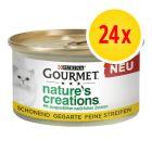 Gourmet Nature's Creations  Mini bouchées 24 x 85 g