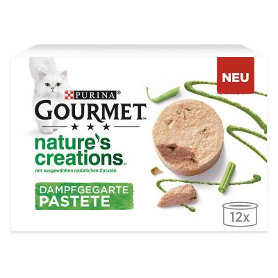 Gourmet Nature's Creations Mousse 12 x 85 g pour chat