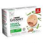 Gourmet Nature's Creations Mousse 48 x 85 g pour chat