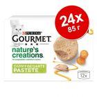 Икономична опаковка Gourmet Nature's Creations Pastete 24 x 85 г
