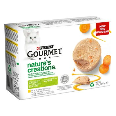 Gourmet Nature's Creations Paté 12 x 85 g