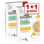 Gourmet Nature's Creations Snack 5 x 10 g em promoção: 1 + 1 grátis!