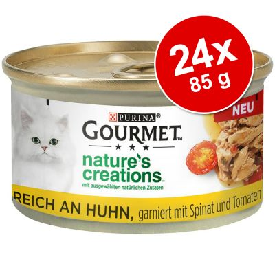 Gourmet Nature's Creations 24 x 85 g