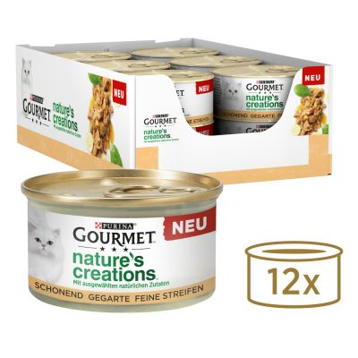 Gourmet Nature's Creations 12 x 85 g