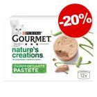 Gourmet Nature's Creations 12 x 85 g : 20 % de remise !