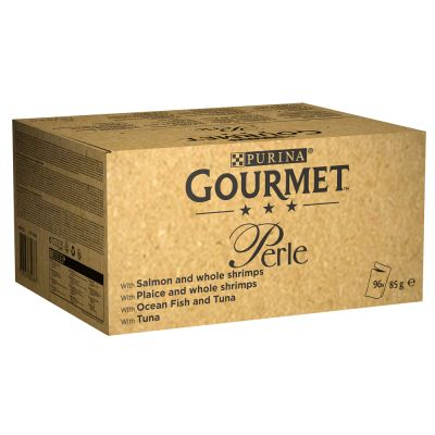 Gourmet Perle Pouches Mixed Mega Pack 96 x 85g