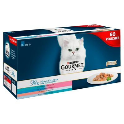 Gourmet Perle Pouches Mixed Saver Pack 60 x 85g