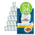 Gourmet Perle Trionfo di Salsa 24 x 85 g Alimento umido per gatti