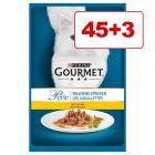 Gourmet Perle -tuorepussit 48 x 85 g: 45 + 3 pussia kaupan päälle!