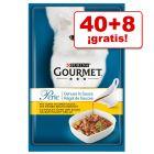 Gourmet Perle 48 x 85 g comida para gatos en oferta: 40 + 8 ¡gratis!