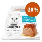 Gourmet Revelations Mousse 48 x 57 g a preço especial!