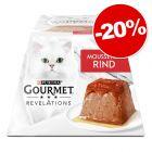 Gourmet Revelations Mousseline 4 x 57 g pour chat : 20 % de remise !
