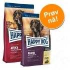 "Gourmetpakke ""Kulinarisk verdensreise"" Happy Dog Supreme Sensible"
