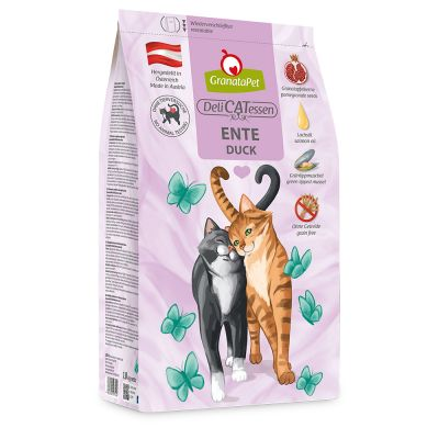GranataPet DeliCatessen Adult, canard pour chat