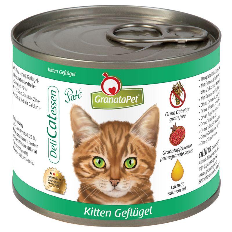 GranataPet DeliCatessen Kitten, siipikarja
