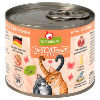 GranataPet DeliCatessen Mixed Pack 6 x 200g