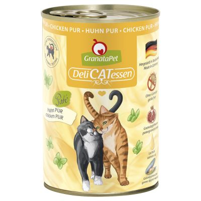 GranataPet DeliCatessen Mixed Pack 6 x 400g