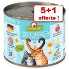 GranataPet DeliCatessen pour chat 5 x 200 g + 1 boîte offerte !