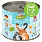 GranataPet DeliCatessen 12 x 200 g em latas - Pack económico