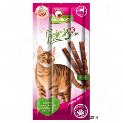 GranataPet Feini Sticks, poulet pour chat