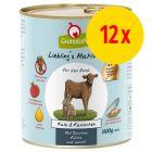 GranataPet Liebling's Mahlzeit 12 x 800 g