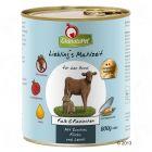 GranataPet Liebling's Mahlzeit  6 x 800 g pour chien