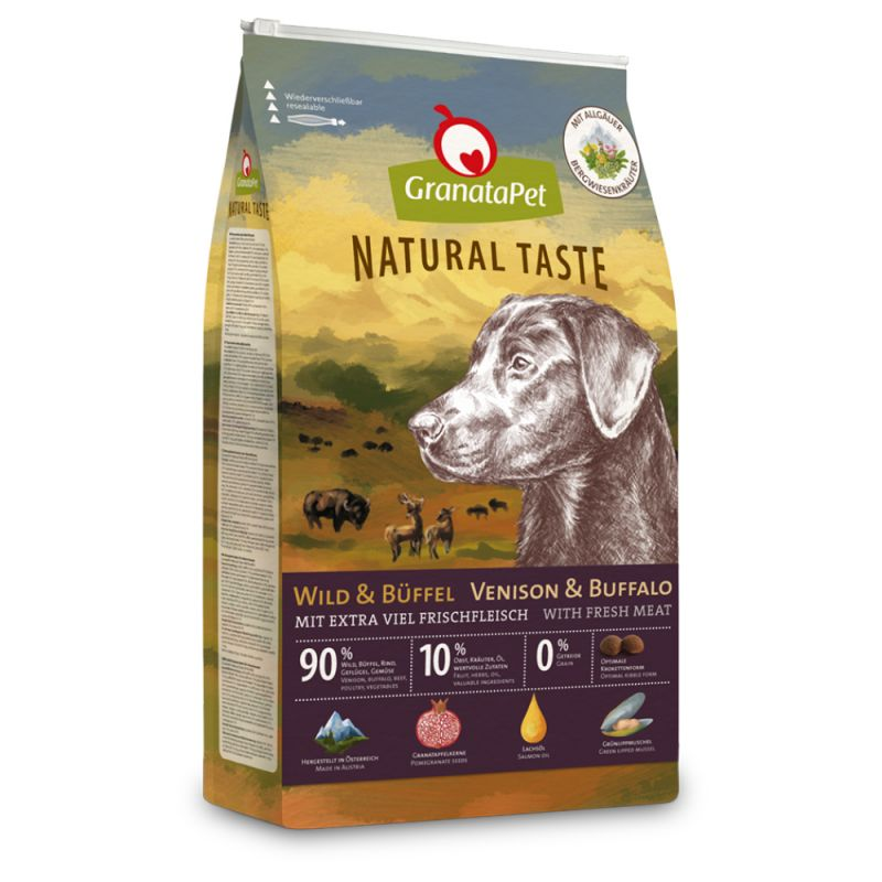 GranataPet Natural Taste Venison & Buffalo