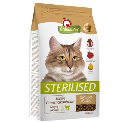 GranataPet Sterilised volaille pour chat