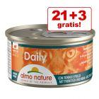21 + 3 gratis! Almo Nature Daily Menu 24 x 85 g
