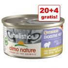 20 + 4 gratis! Almo Nature Holistic Specialised Nutrition/Maintenance, 24 x 85 g