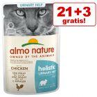 21 + 3 gratis! Almo Nature Holistic, 24 x 70 g