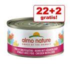 22 + 2 gratis! Almo Nature 24 x 70 g